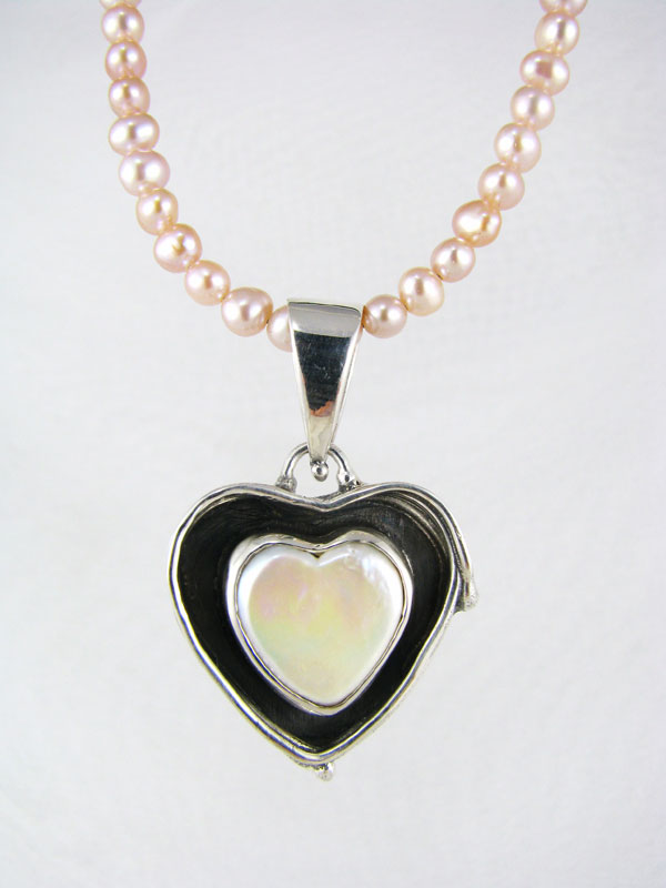 Fused Heart Pendant